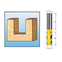 Fresa recta 2 filos D-09282
