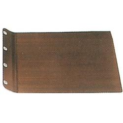 Placa metálica 344620-3