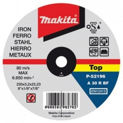 Disco de corte metal 180mm...