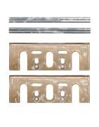 Conjunto de Mini-cuchillas + cuchillas HM/placas Makita